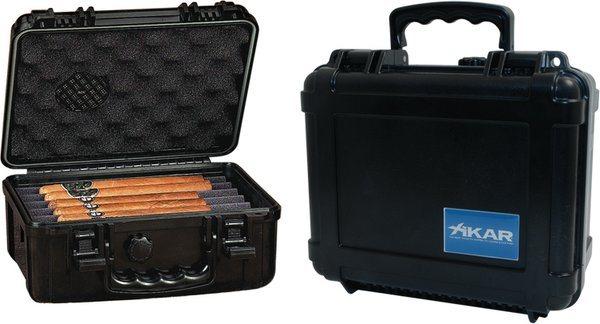 Xikar 旅行用ヒュミドール プラスチック製 30-50本用