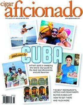 シガーアフィクショナド(Cigar Aficionado Magazine)  2015年5月/ 6月