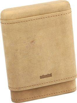 アドドリニ シガーケース 本革製 3~5本用 ブラウン