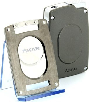 Xikar Ultra slim カッター&ライターセット ガンメタル
