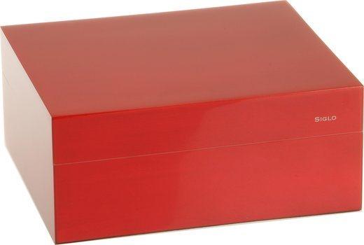 シグロ(Siglo) ヒュミドール  Sサイズ 50 レッド