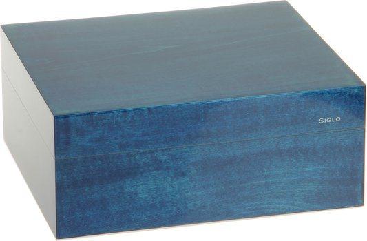 シグロ(Siglo) ヒュミドール  Sサイズ 50 ブルー
