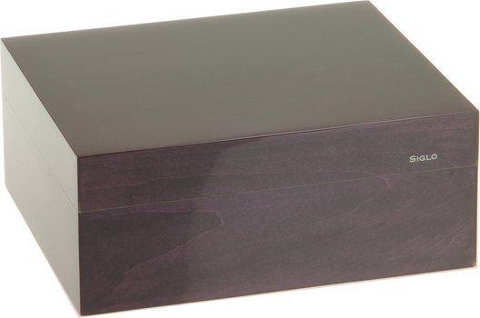 シグロ(Siglo) ヒュミドール  Sサイズ 50 パープル