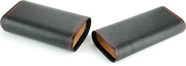 シグロ(Siglo) レザーケース ブラック レッドシーム付き