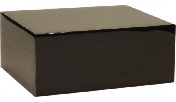 ガイ・ジャノット・ピアノラッカー・ヒュミドール・ブラック35 (Guy Janot Piano Lacquer Humidor Black 35)