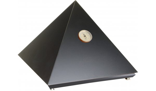 adorini ヒュミドール ピラミッド デラックスM ブラック