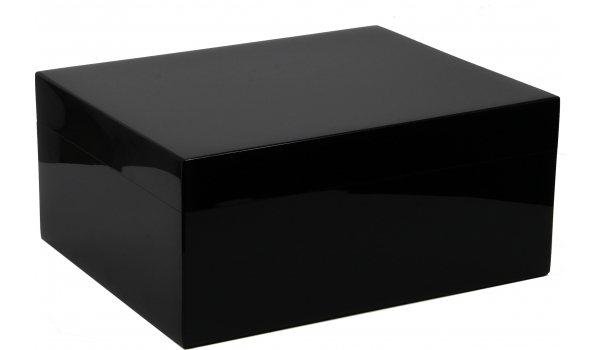 ガイジャノット ヒュミドール ブラックピアノラッカー50 (Guy Janot Humidor Black Piano Laquer 50)