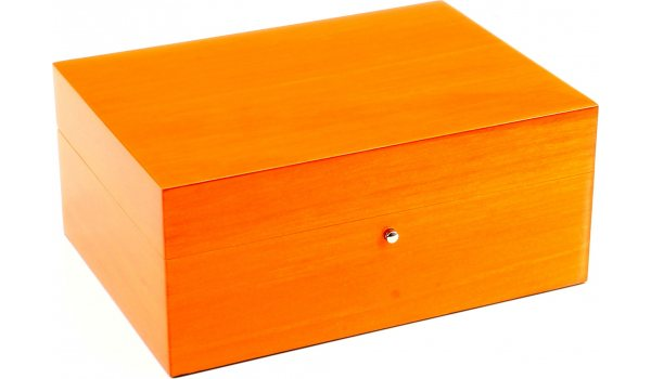 ゲンティリ ヒュミドール オレンジ 10シガー(Gentili Humidor Orange 10 Cigars)