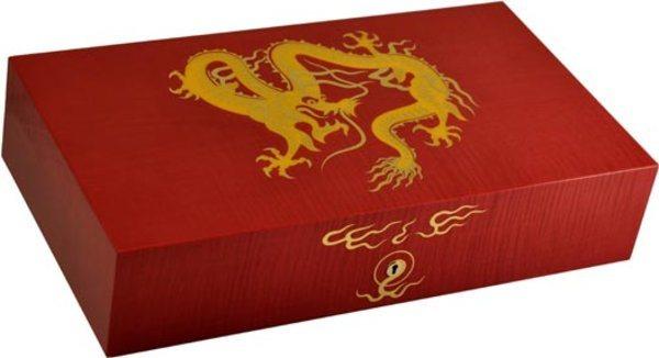 エリーブルー ゴールデンドラゴン(Elie Bleu Golden Dragon) ヒュミドール レッド