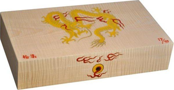 エリーブルー ゴールデンドラゴン(Elie Bleu Golden Dragon) 限定版ヒュミドール ナチュラルシカモア