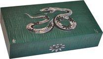 エリーブルー(Elie Bleu) Mother-of-Pearl Snake 限定モデル ヒュミドール グリーン(シリアルナンバー 1~8)