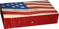 エリーブルー(Elie Bleu) Stars & Stripes Flag 110 ヒュミドール