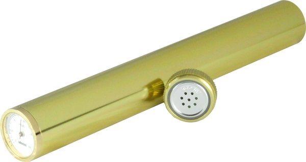 湿度計付きアドリニヒュミドールチューブ、ゴールド。