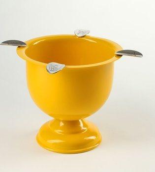 スティンキー(Stinky) ジャー型灰皿 トールタイプ セーフティイエロー