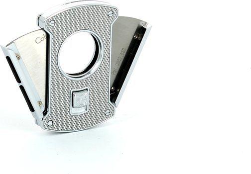 Colibri スライス シガーカッター シルバー / カーボン 24mm