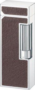 Dunhill Unique lighter palladium leather