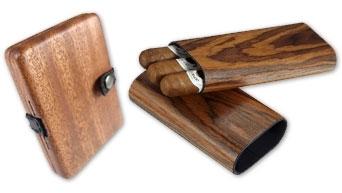 木製シガーケース